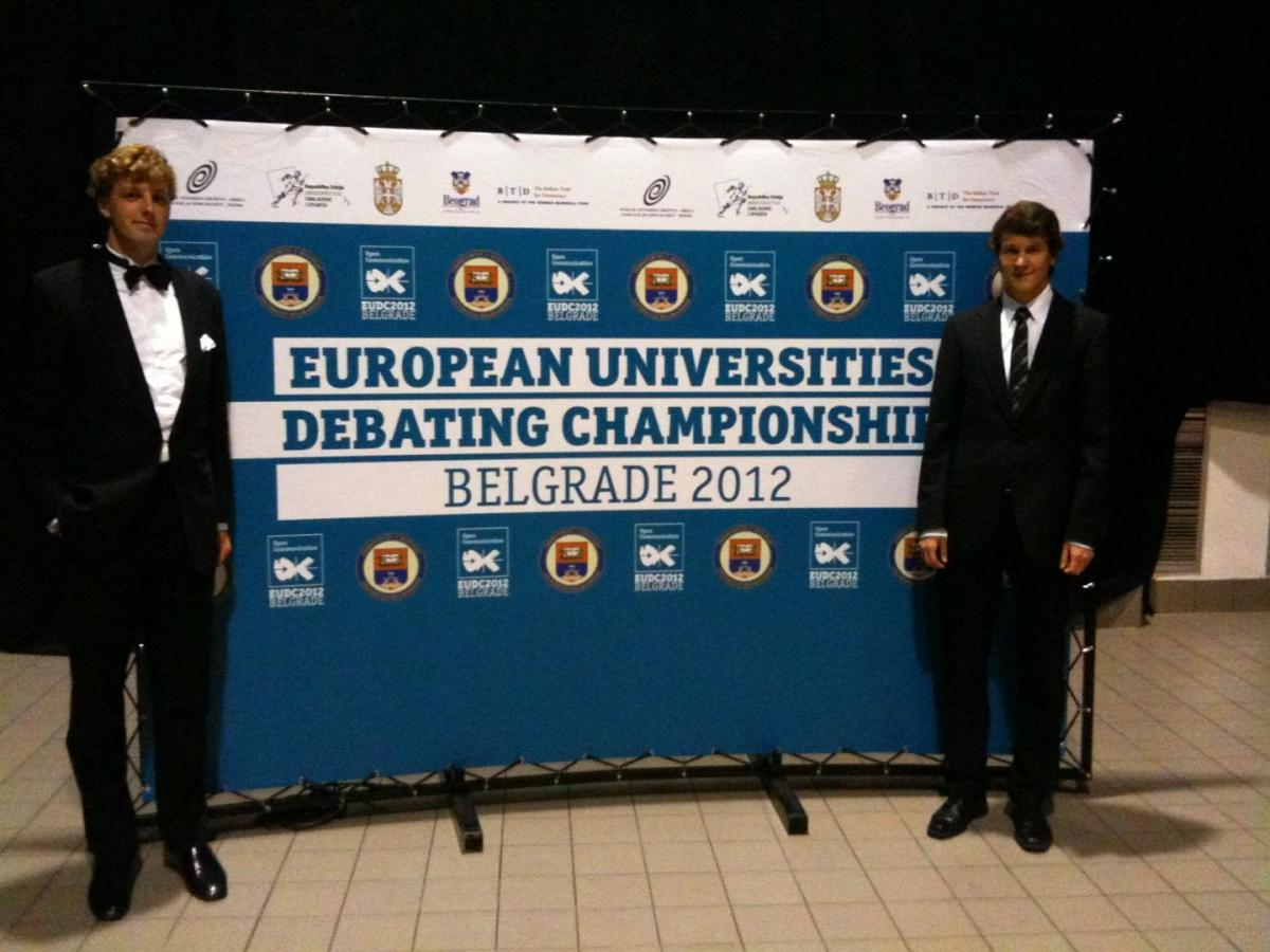 Team des Debating Club Heidelberg beim EUDC 2012 in Belgrad